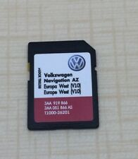 RNS 315 new LATEST V10 Navigation SD card AZ for West Europe 2018 VW SEAT SKODA
