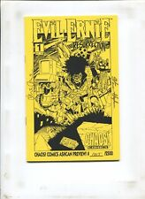 EVIL ERNIE #1 THE RESURRECTION ASHCAN PREVIEW #1015/12500 SIGNED BY STEVE HUGHES
