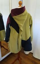 Mittelalterlicher Mantel Gr.122 128 134 140  Burgfräulein Mittelalter Wolle bunt