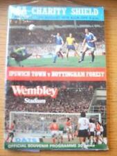 12/08/1978 FA Charity Shield: Ipswich Town v Nottingham