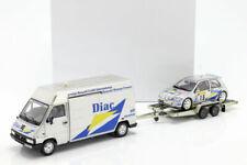 Otto Mobile - Renault Clio Maxi (Rally Monte Carlo 1995)  - Vèhicule Miniature - 1:18 - Argenté