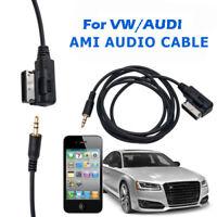 Pour Audi VW Audio  Câble 3.5mm Mâle Jack InterfaceAMI MMI AUX Adaptateur Câble
