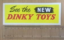 Large Dinky Sticker - Weatherproof Vinyl