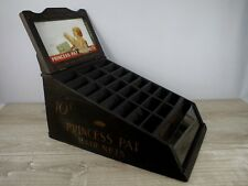 Rare Antique Advertising Display Cabinet for Princess Pat Hair Nets c1940