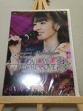 Rare Sayumi Michishige on DVD Morning Musume 14 Live GIVE ME MORE LOVE unopened