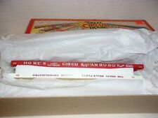 HO Scale Walthers Ringling Brothers, Robbins Flat Cars Great American Circus BN