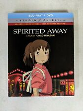 Studio Ghibli Spirited Away - Anime Movie (Blu-ray/DVD) w/Slipcover
