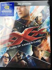 Xxx Return Of Xander Cage Steelbook (Blu-ray/DVD/4K) New!