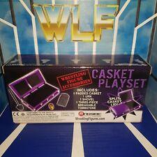 Casket Playset (Purple) - RSC - Accessories for WWE Wrestling Figures