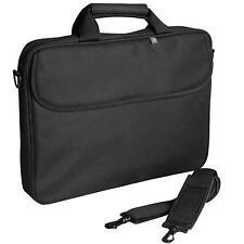 "Techair 15.6"" Black Laptop Classic Shoulder Bag Toploading TANB0100"