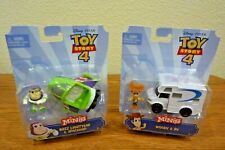 Disney Toy Story 4 Minis Buzz Lightyear Spaceship Woody RV Pixar NIP