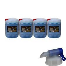 4x 20L Pemco Anticongelante 911 Kühlflüssigkeiten Azul + Grifo de Vaciado
