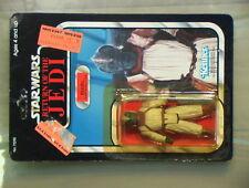 Star Wars VINTAGE 1983 Klaatu Skiff Guard Mint on Sealed Unpunch Card Kenner C-6