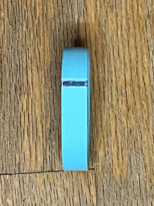 Fitbit Flex Band Aqua Light Blue (Device not included), Size Small Metal Clasp