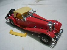 Un Franklin Comme neuf scale model voiture 1935 Mercedes Benz 500K SPECIAL ROADSTER