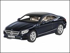 NOREV Mercedes Benz S-Klasse Coupe C217 Blue 1:43 DEALER EDITION**Nice**