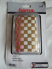 Hama 104526 copertura involucro in plastica TELEFONO COVER IPHONE 3 3G 4 4G Apple