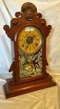 Wm. L Gilbert Clock Co. Parole Mantle Shelf  WORKS Vintage Antique