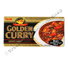 S&B GOLDEN CURRY SAUCE MIX - HOT