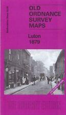 OLD ORDNANCE SURVEY MAP LUTON 1879: BEDFORDSHIRE SHEET 33.05a