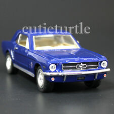 Kinsmart 1964 1/2 Ford Mustang 1:36 Diecast Toy Car Blue