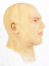 Realistic Man Latex Mask Full head & Neck Male Disguise Halloween Fancy Dress