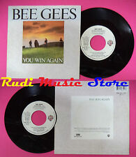 LP 45 7'' BEE GEES You win again Backtafunk 1987 france WARNER no cd mc dvd