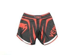 Venum MMA Mens Fighting Training Shorts Size Meduim Red and Black
