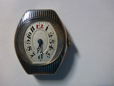 WATCH MONTRE VINTAGE OLD STERLING SILVER ARGENT BIJOUX ANTIQUES