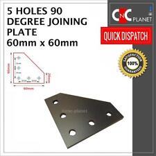 5 agujero 90 grados de unirse a placa 2020 V-Ranura Perfil de Aluminio CNC 3D Impresora 60X60