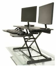 Height Adjustable Standing Desk Monitor Riser Workstation -...