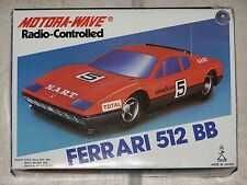 VINTAGE MOTORA-WAVE 1/24ème Radio-Controlled FERRARI 512 BB
