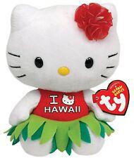 NWT Hello Kitty TY Beanie HAWAII plush stuffed