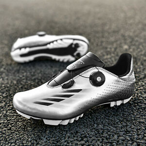 Professional Cycling Shoes Men's SPD Road Bicycle Sneakers Mountain Racing Bike