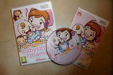 ORIGINAL NINTENDO Wii GAME BABYSITTING MAMA +BOX INSTRUCTIONS TESTED GWO PAL
