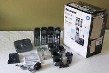 Panasonic DECT 6.0 Plus Four Handset Cordless Phone System KX-TG294SK