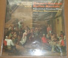 Harnoncourt BACH Peasant/Coffee Cantatas - Telefunken SAW 9583-M SEALED