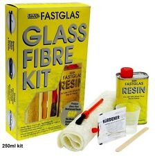 u pol UPOL UPGL/SM/D Fastglas Glass Fibre Kits Small Display Pack 250ml pack