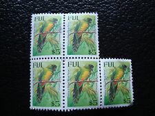 FIDJI - timbre yvert et tellier n° 766 x4 obl (A18) stamp fiji