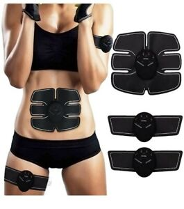 SEEYC Abs Trainer EMS Abdominal Muscle Stimulator Muscle Toning Belts Home...