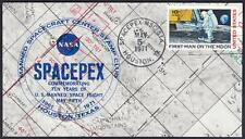 10th ANNIVERSARY US MANNED SPACE FLIGHT Houston Texas 1971 Space Cover
