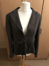 Ines Size 18 Brown Fleck Long Sleeved Lined Jacket