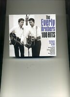 THE EVERLY BROTHERS - 100 HITS - 4 CDS - NEW!!