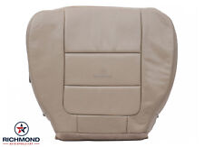 2002 Ford F250 4X4 Diesel Lariat Extended Quad Cab Driver LEATHER Seat Cover TAN