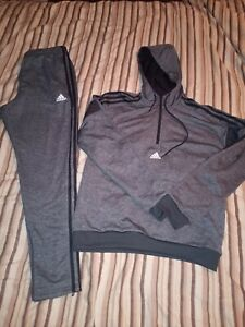 Mens Adidas Authentic. Tracksuit. New. Size Medium. Grey/ Black