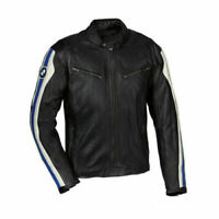 BMW Motorbike Jackets Genuine Leather Motorcycle Racing Biker Sports Protective