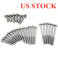 Engine Side Case Screw Bolt Set Kit Replace For Honda Z50A Z50R CT70 CT70H Trail