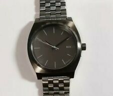 Nixon Time Teller A0452090 Gunmetal Grey Breclet Watch With 38mm Face