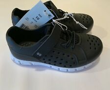 New In Box Stride Rite Tex Boys SIZE 10 Land Water Shoes Black Ships Free