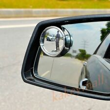 2X Universal Car Accessory Back Rear View Wide Angle Blind Spot Mirror Decorate
